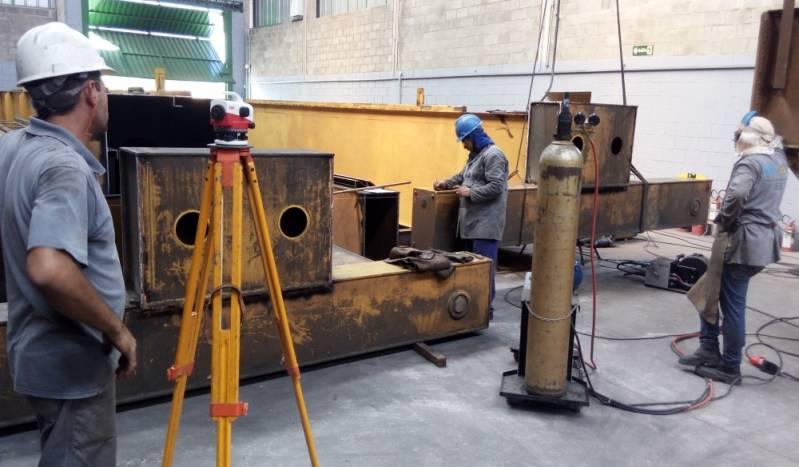 Reforma de Ponte Rolante Industrial Preço Rio Claro - Reforma em Ponte Rolante Automatizada